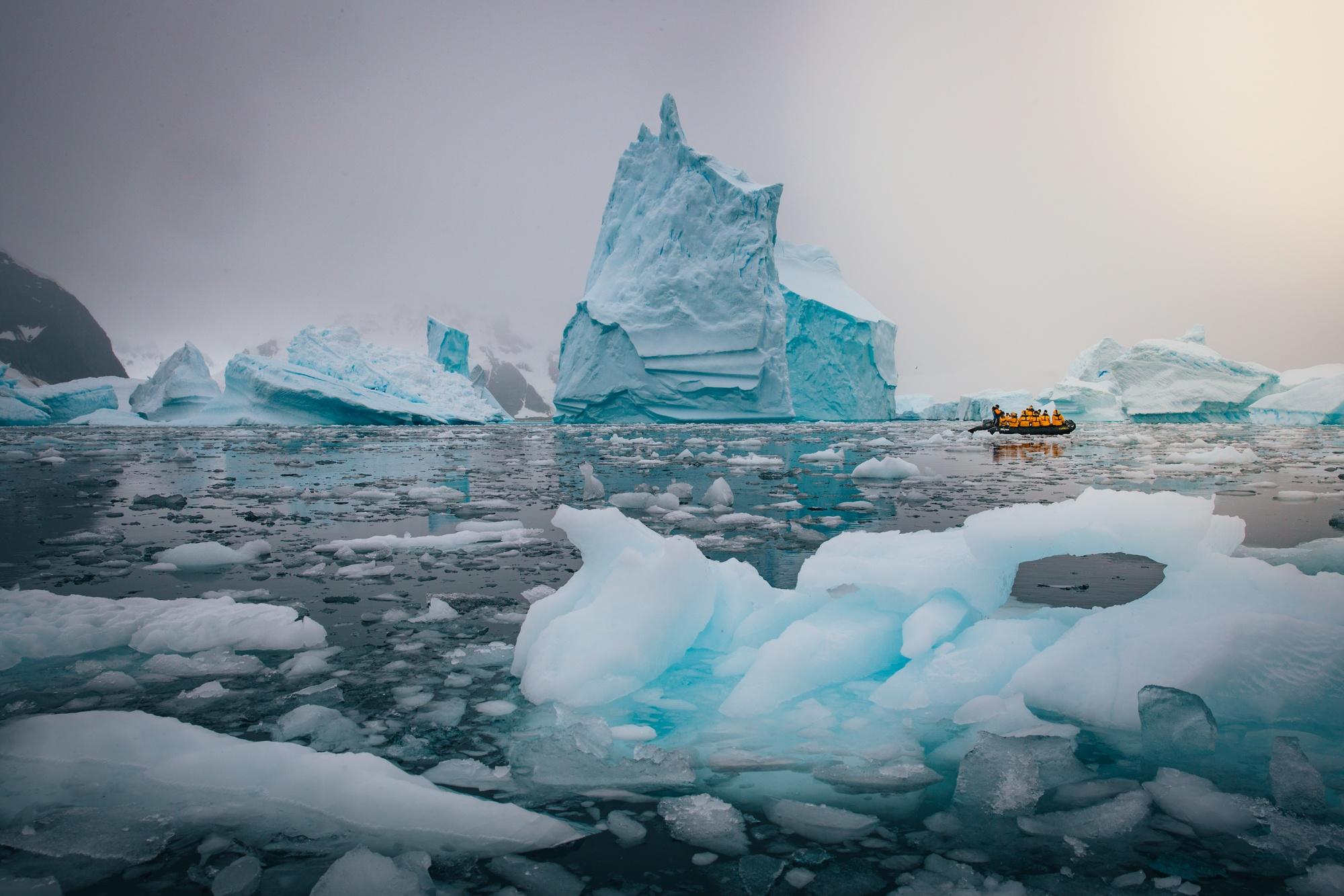 путешествие по Антарктиде