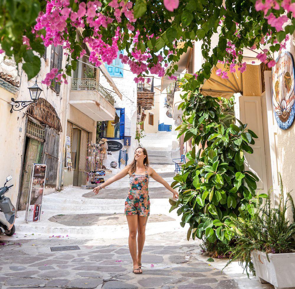 парусный спорт на греческих островах порос
