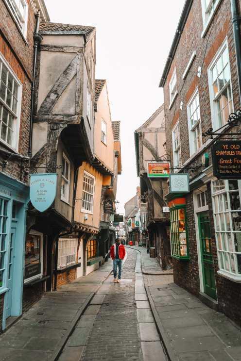 Изучение прекрасного древнего города Йорк, Англия (41)