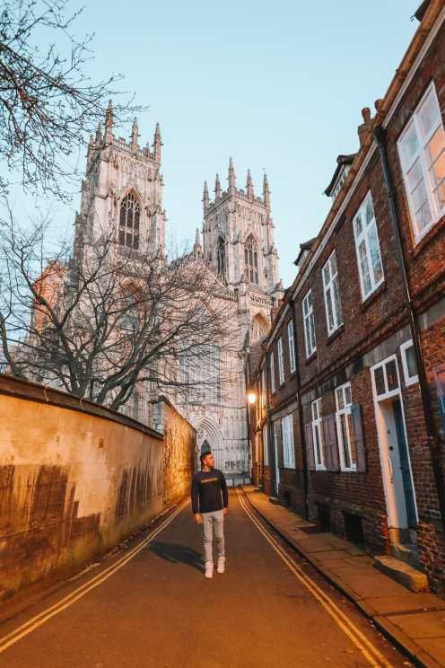 Изучение прекрасного древнего города Йорк, Англия (53)