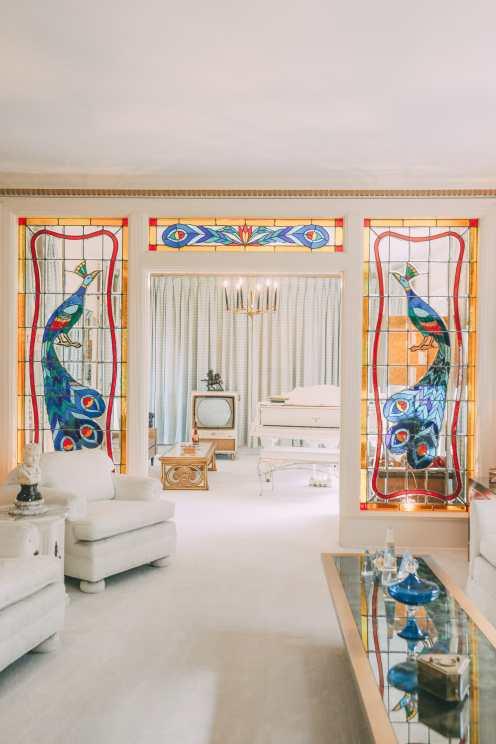 Посещение Грейсленда - Дом Элвиса Пресли (11)