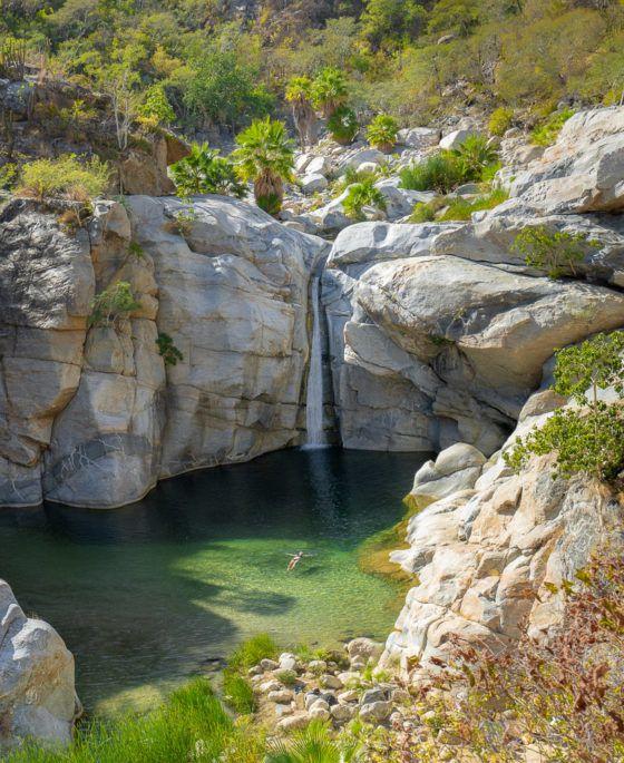 водопад сантьяго баха-сюр