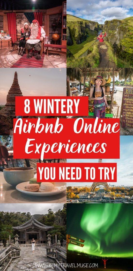 8 зимних, праздничных впечатлений от Airbnb в Интернете, которые вам нужно испытать со своими близкими в этот праздник. Планируете уникальную виртуальную встречу или ищете интересные способы сблизиться с семьей и близкими? Эти онлайн-возможности Airbnb идеально подходят для вас. Нажмите, чтобы увидеть их сейчас! #ad #Airbnb