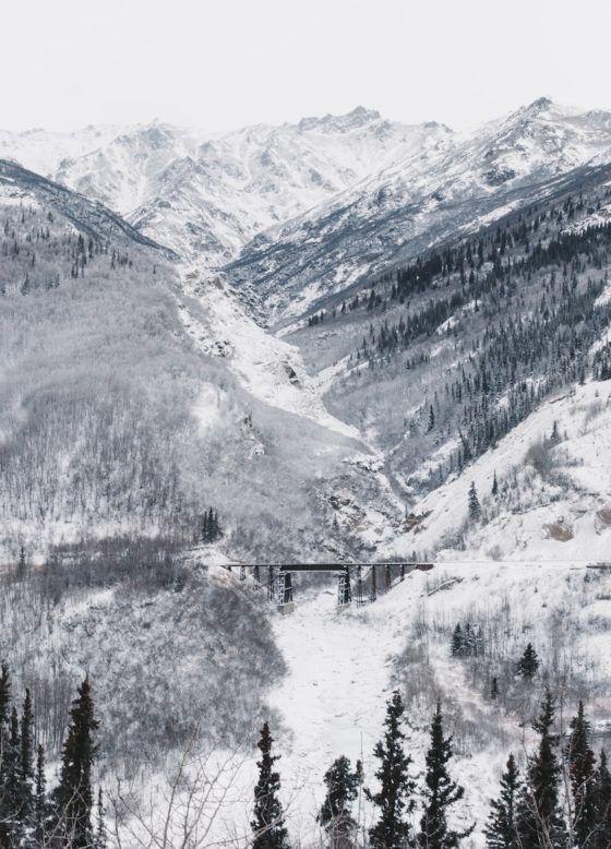 лучшие национальные парки зима Денали
