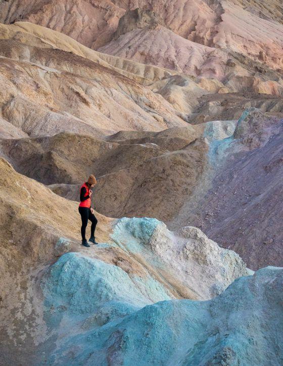 Национальный парк Долины Смерти зимой