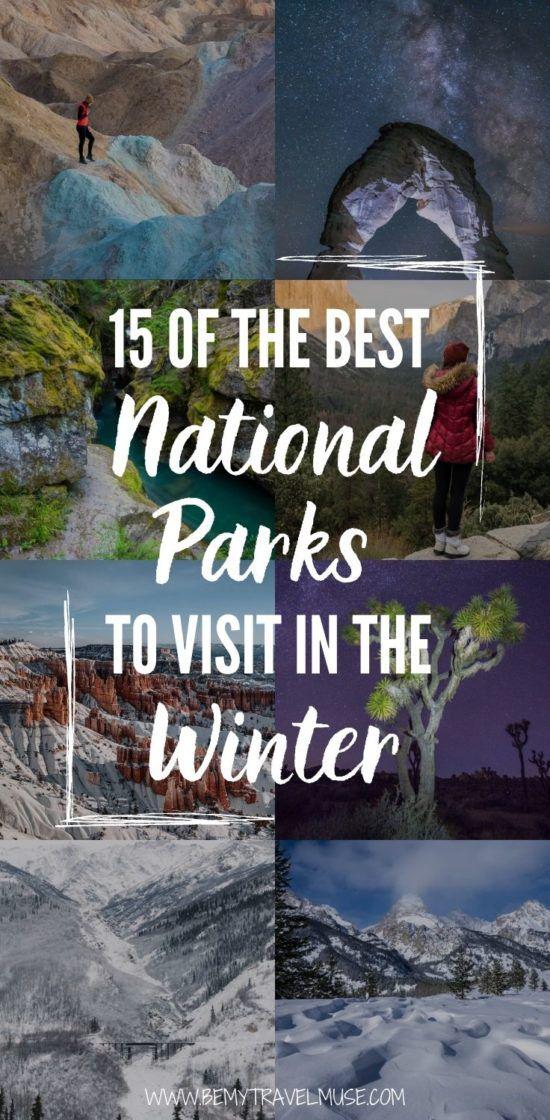 Какие национальные парки лучше всего посетить зимой? В этом списке вы найдете 15 удивительных национальных парков, которые, вероятно, хороши круглый год, но особенно прихотливы зимой. Если вы планируете приключение на природе этой зимой, этот список идеально подходит для вас. #Winter #USANationalPark