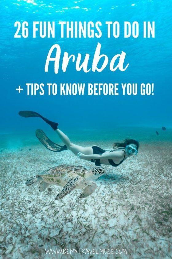 Скоро приедете в Арубу? Вот 26 интересных вещей, которыми можно заняться на Арубе, а также советы инсайдеров, которые вы должны знать перед поездкой. Посмотрите, где находятся лучшие пляжи, уникальные места, такие как пещеры, природный бассейн, мосты, рестораны и места для подводного плавания / подводного плавания. Если вы планируете маршрут по Арубе, этот список поможет вам выяснить, чем лучше всего заняться в стране. #Aruba