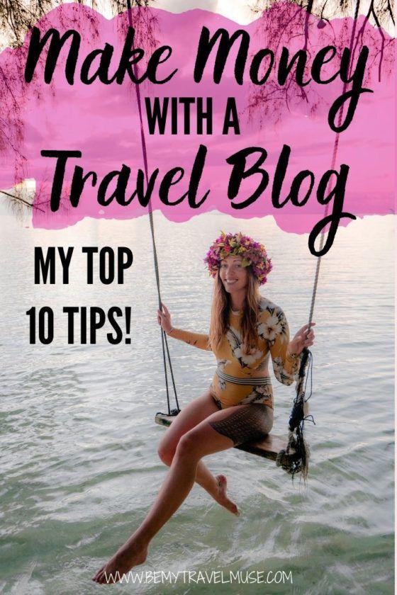 Как заработать на блоге о путешествиях: выпуск 2020 года! Я работаю блоггером о путешествиях уже более 8 лет, и вот мои 10 лучших советов по монетизации вашего блога, которые помогут вам превратить блог о путешествиях в полноценный бизнес. Нажмите, чтобы прочитать сейчас! #TravelBlog #Travelblogging