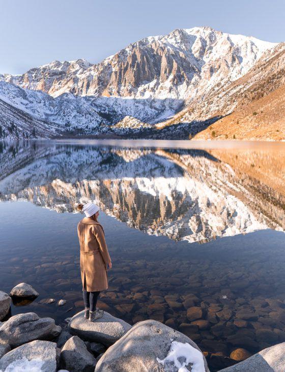 осужденное озеро калифорния зима