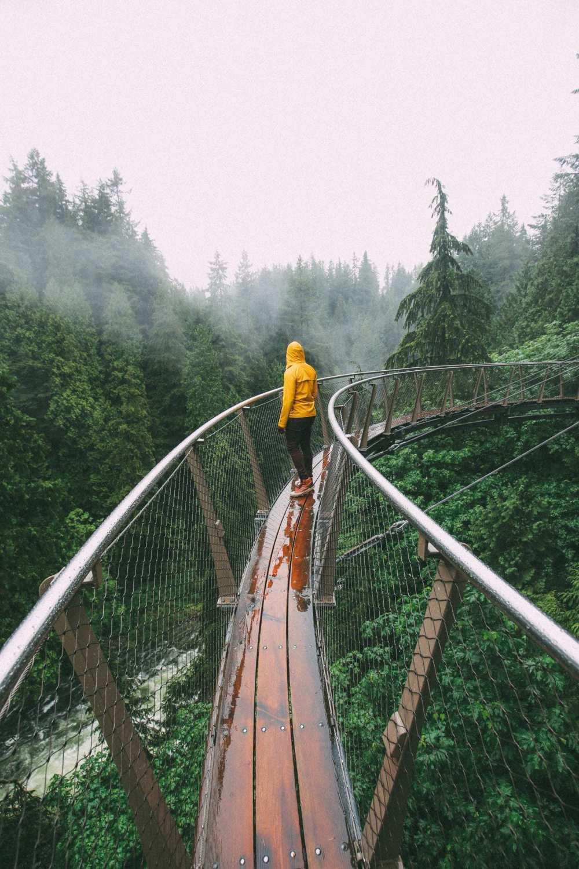 Как провести ленивый день в Ванкувере, Канада ... (плюс, исследование невероятного подвесного моста Капилано) (15)