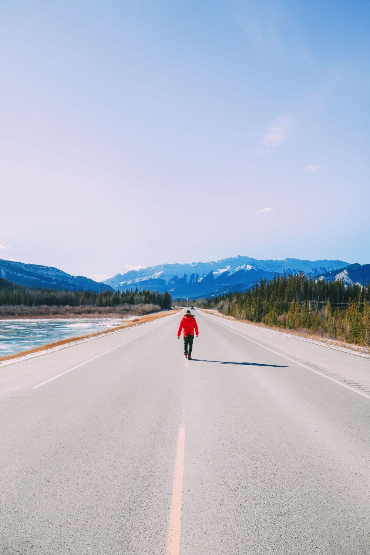 Удивительная красота национального парка Джаспер ... В Альберте, Канада (15)
