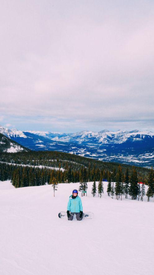 Куда пойти покататься на лыжах в Джаспере, Канада? Бассейн сурков! (17)