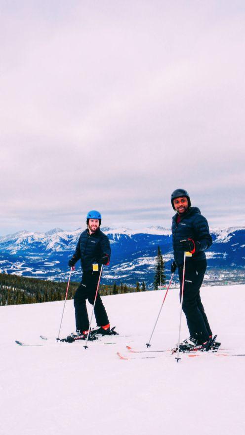 Куда покататься на лыжах в Джаспере, Канада? Бассейн сурков! (19)