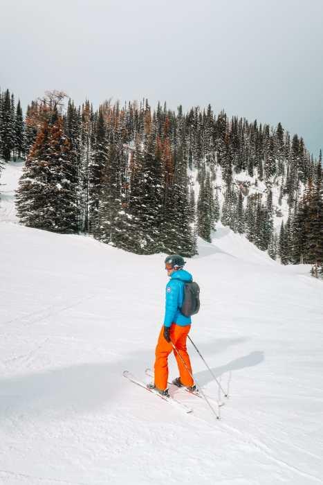 Найти дикого лося и покататься на лыжах в Саншайн-Виллидж ... в Банфе, Канада (16)