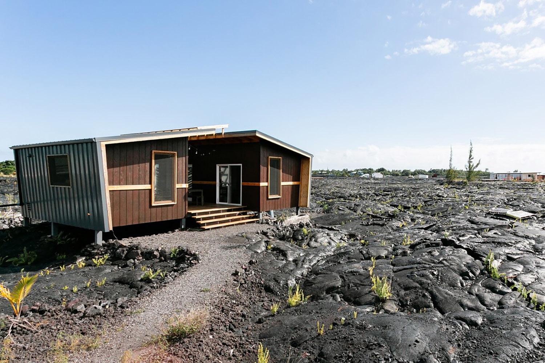 вулканическое лавовое поле гавайи airbnb