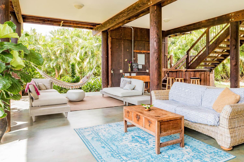 тропическая манговая ферма airbnb на гавайях