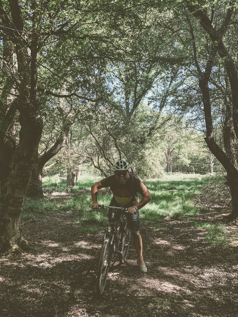 Велосипедный спорт в Эппингском лесу