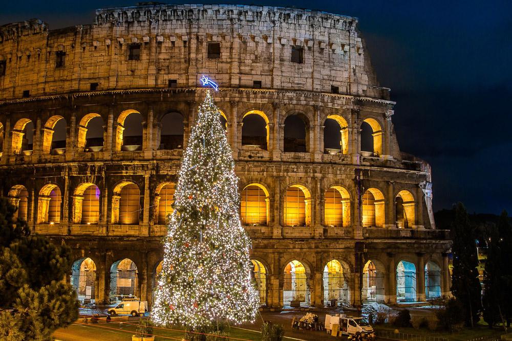 С Рождеством в Италии!