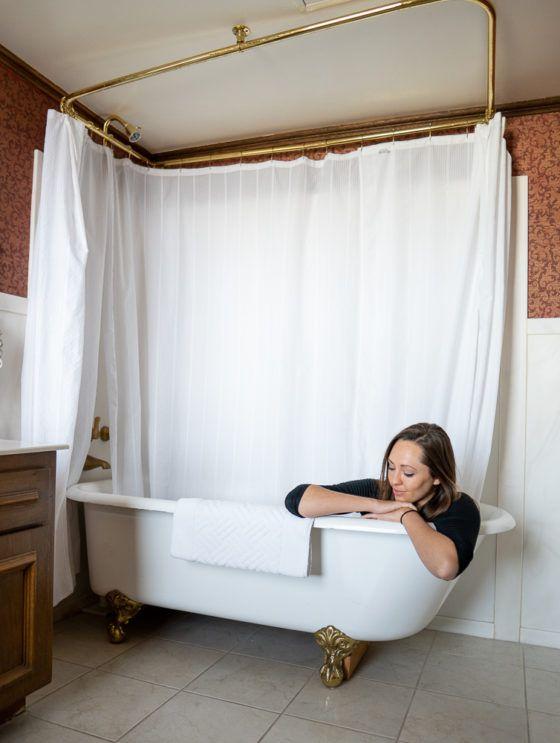 ванные комнаты в отелях mizpah