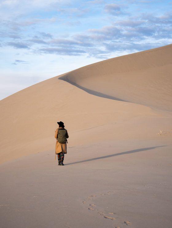 Тонопа песчаные дюны