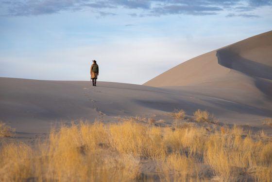 песчаные дюны Тонопа