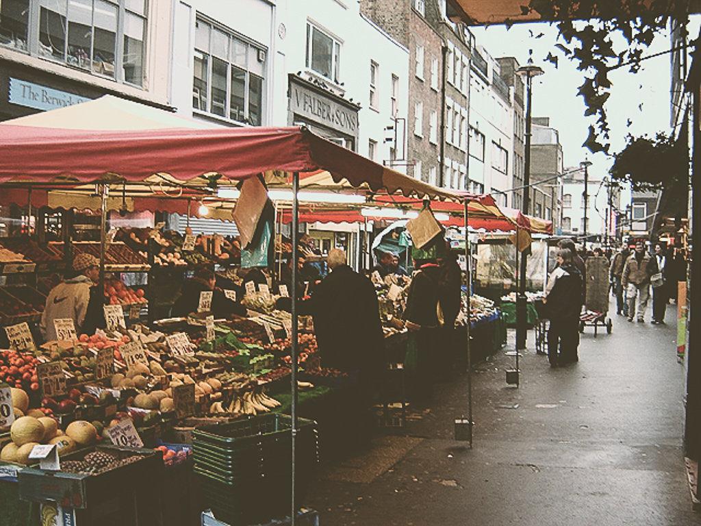 Рынок на Бервик-стрит