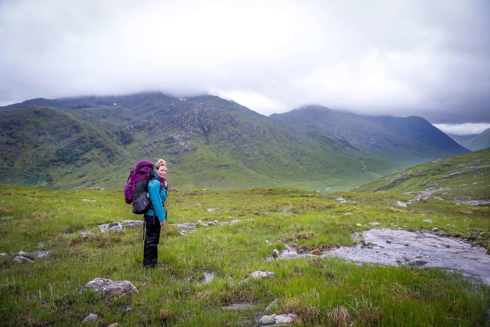 одиночный поход по Шотландии