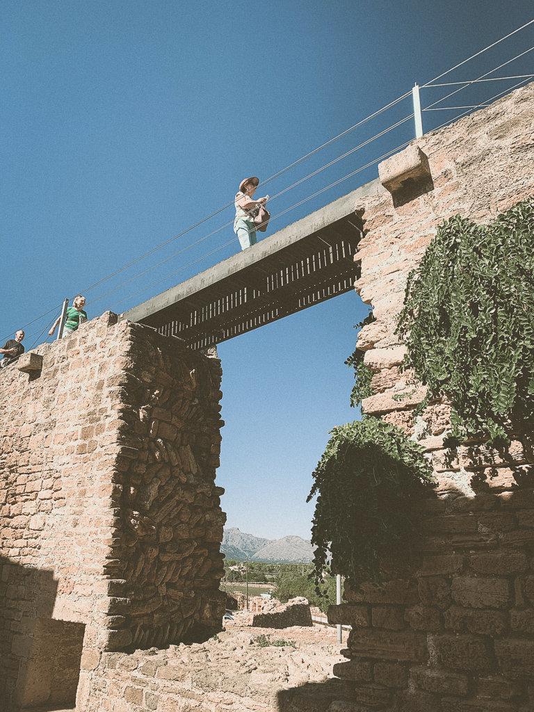Реставрация стены Алькудии
