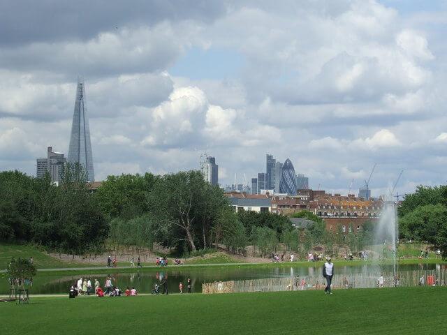 Берджесс-парк Лондон