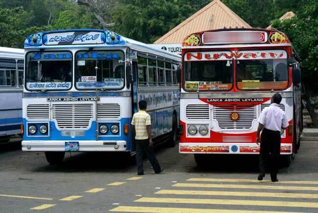 Автобус на Шри-Ланке