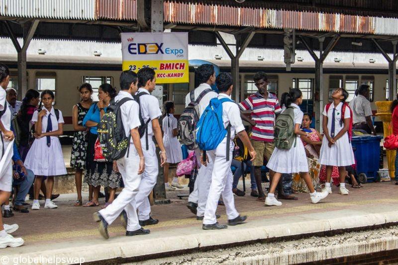 путешествие из Коломбо в Галле
