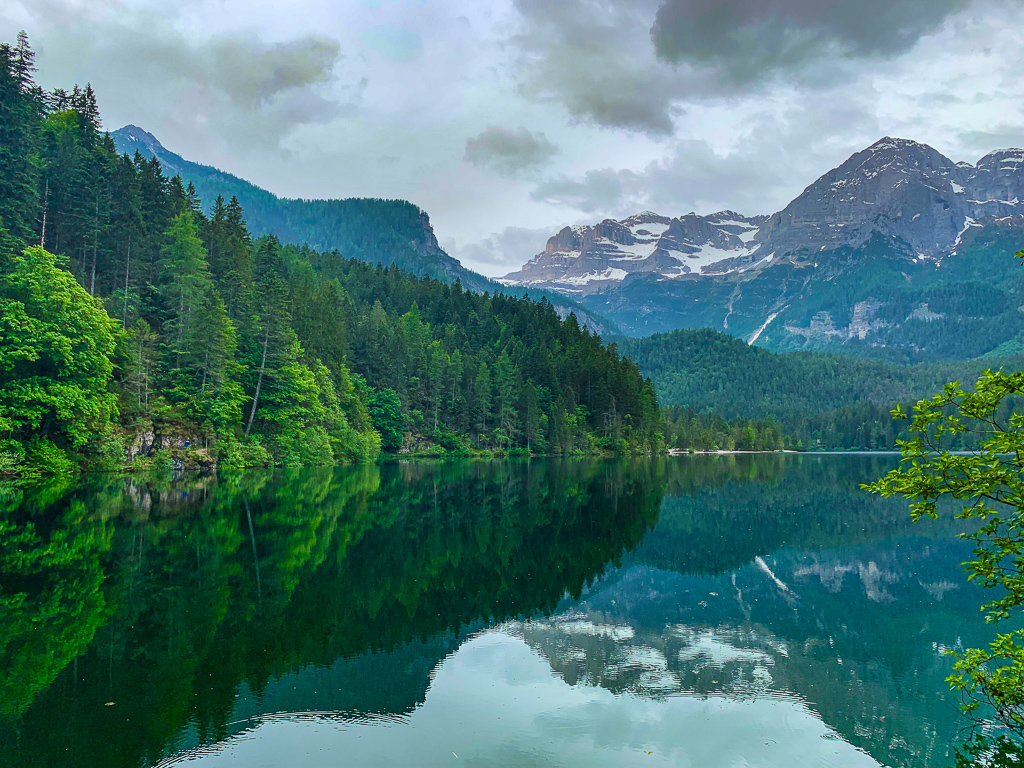 Озеро Товель, Трентино, Италия
