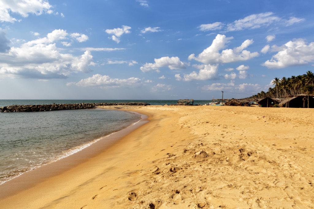 Пляж Негомбо Шри-Ланка