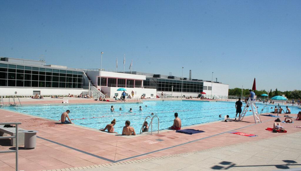 Открытый бассейн Хиллингдона