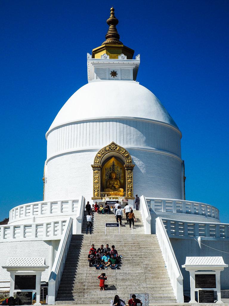 Пагода мира во всем мире, Покхара, Непал