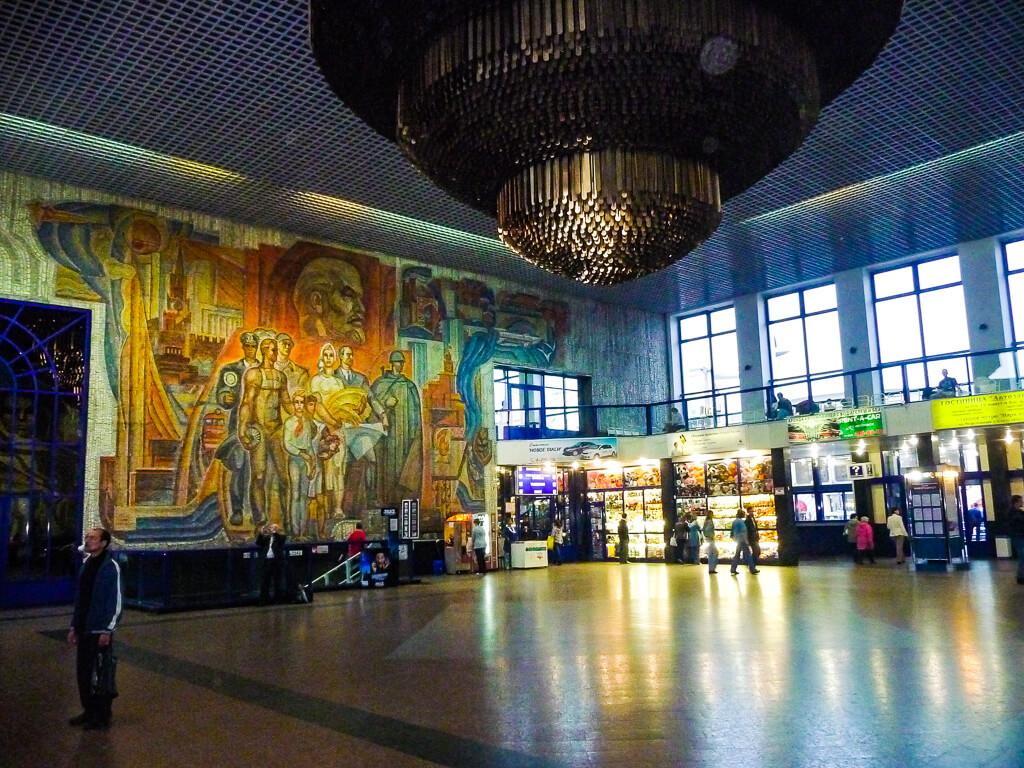 Железнодорожный вокзал Нижнего Новгорода