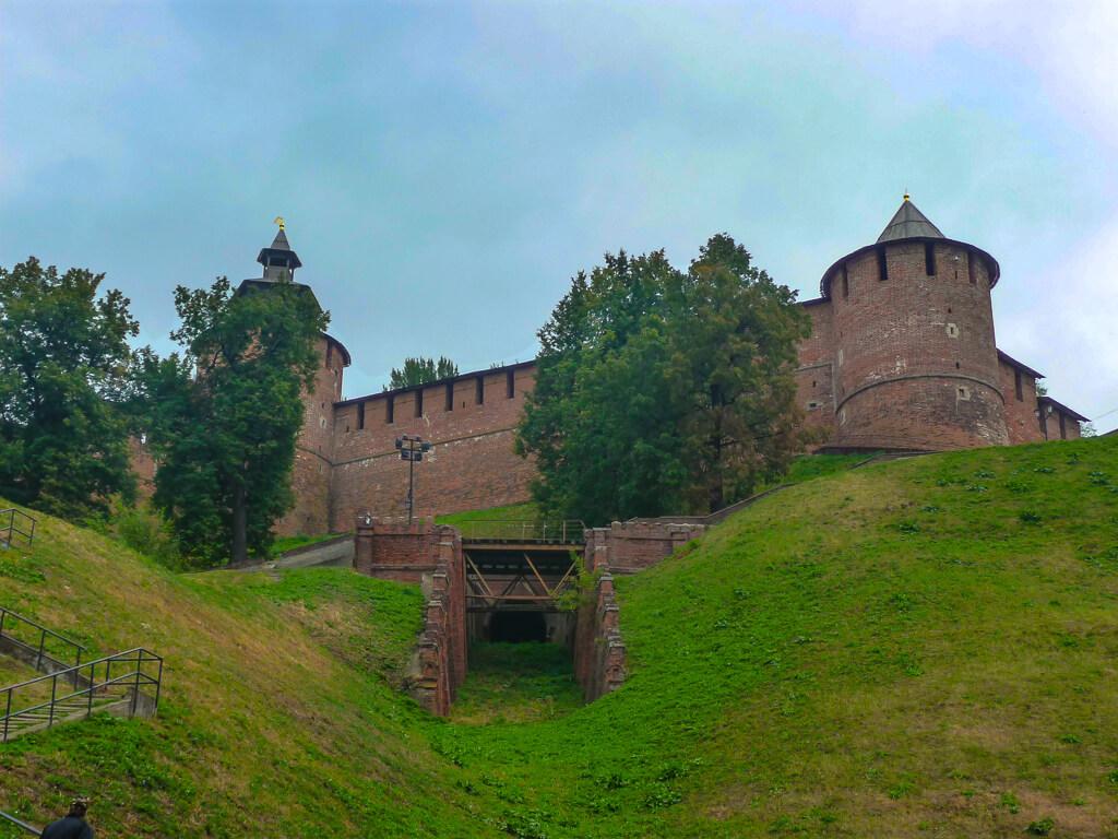 Старый Кремль в Нижний Новгород