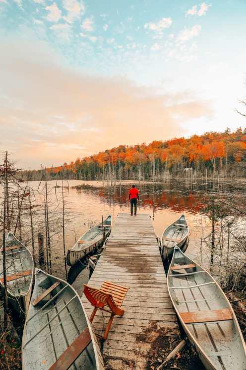 Затеряться в природе (и с бобрами) в Квебеке, Канада (33)