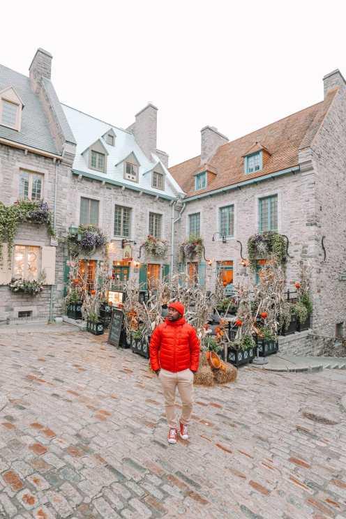 Абсолютно красивый французский город Квебек, Канада (39)