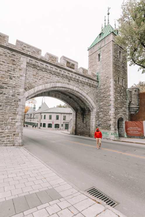 Абсолютно красивый французский город Квебек, Канада (18)