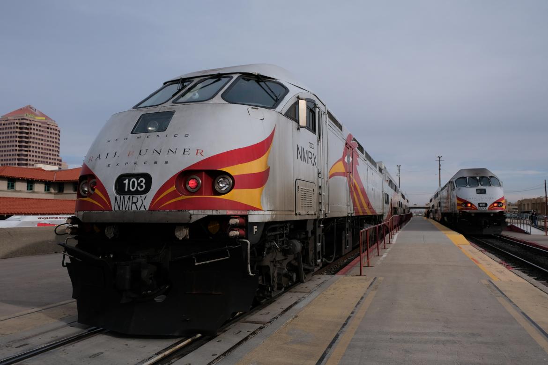 Железнодорожный бегун Нью-Мексико