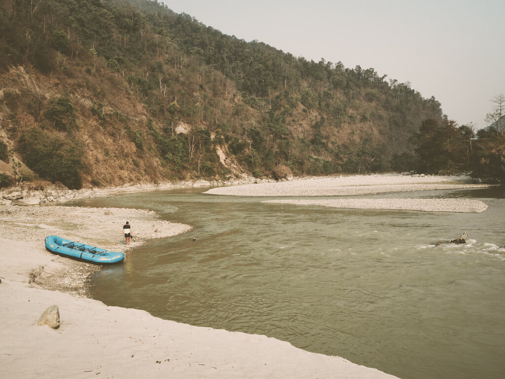 Сплав по реке Сети в Непале