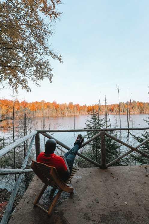 Затеряться в природе (и с бобрами) в Квебеке, Канада (4)