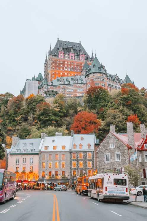 Абсолютно красивый французский город Квебек, Канада (43)