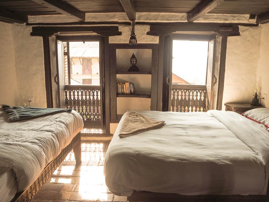 Одна из комнат в Old Inn