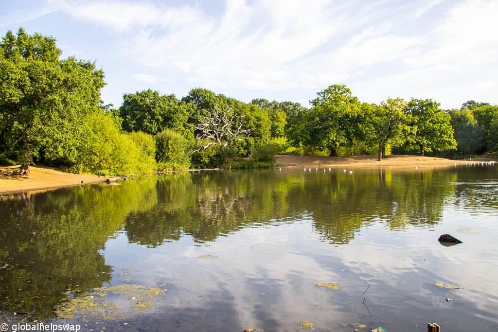 парки в восточном Лондоне
