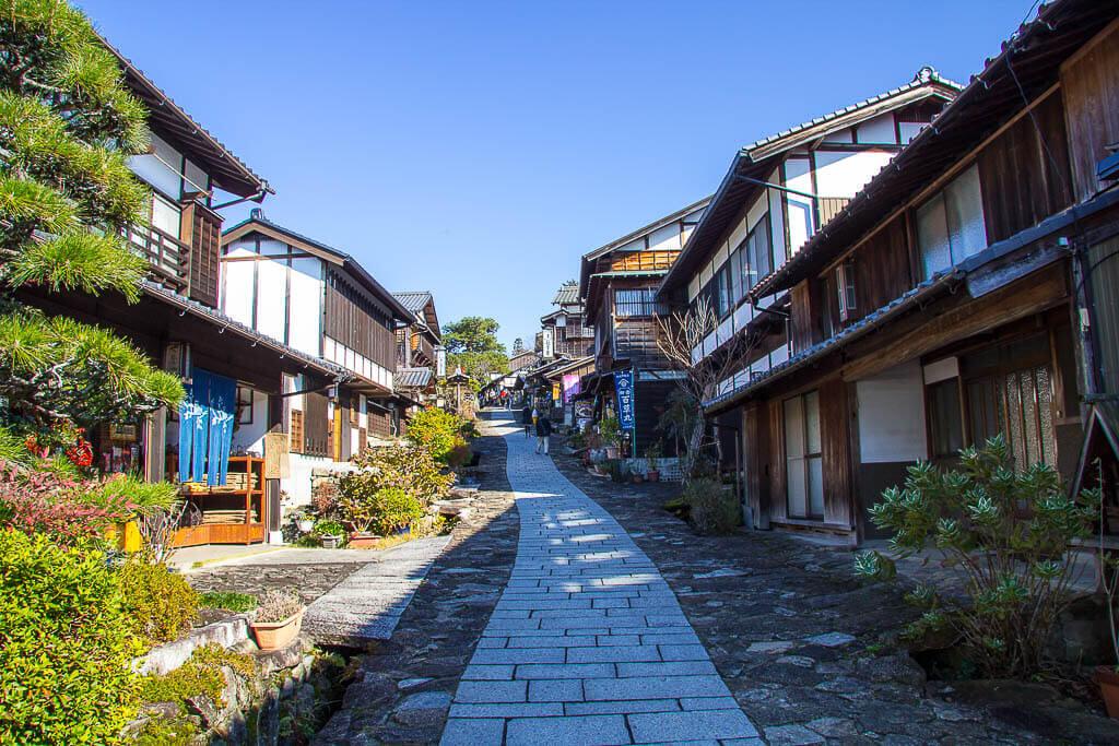 Японскую сельскую местность