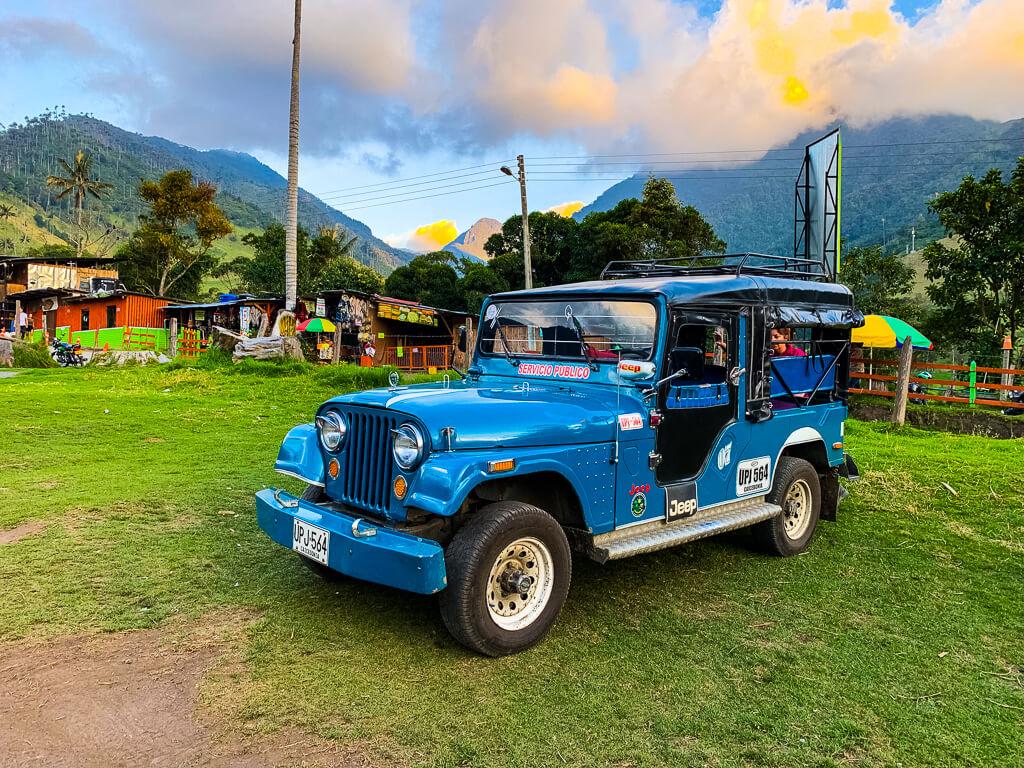 Джип в Колумбии