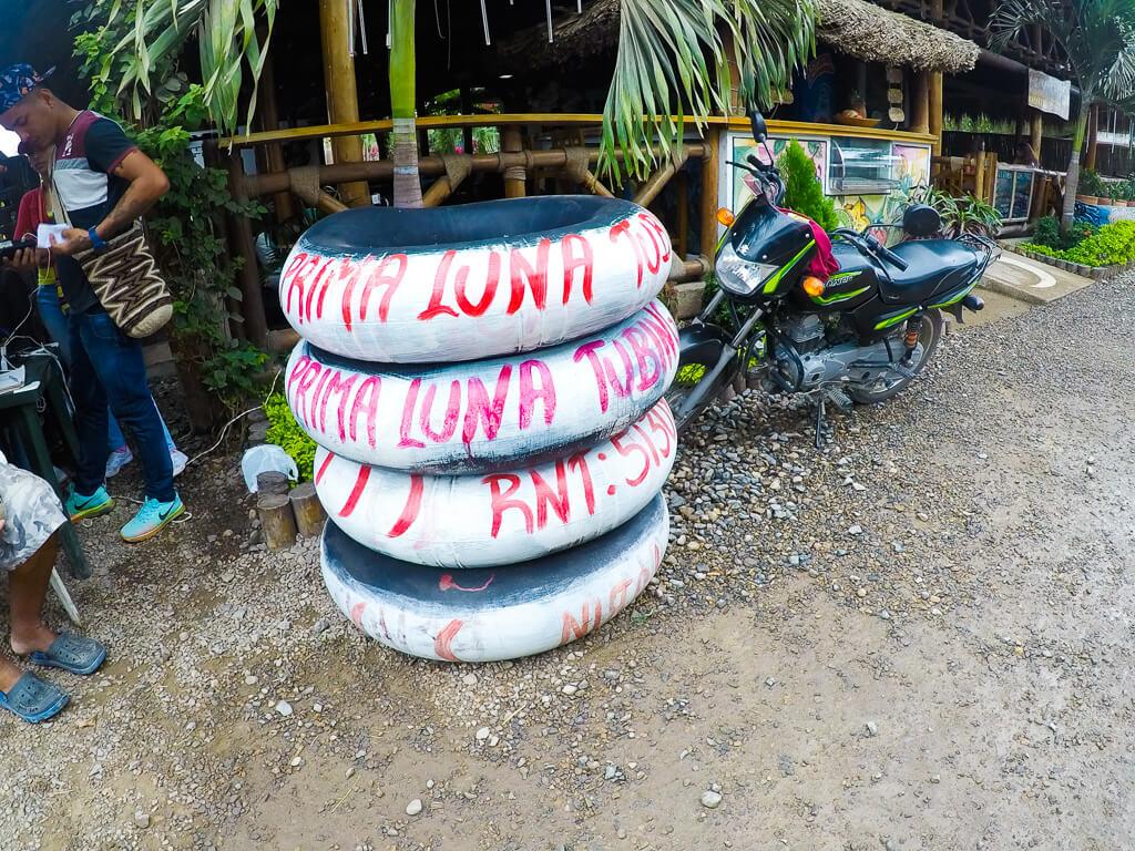 Трубка в Паломино, Колумбия