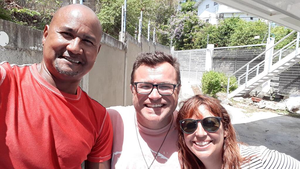 Наш хозяин Airbnb в Сан-Андрес, Колумбия